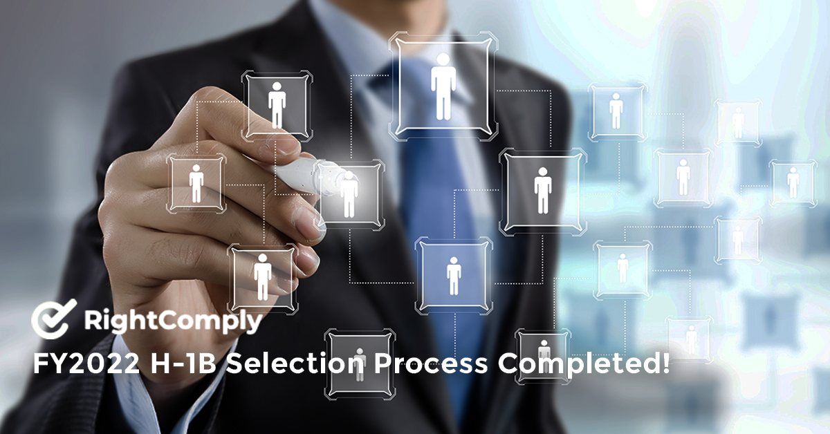 FY2022 H-1B Selection Process Completed!