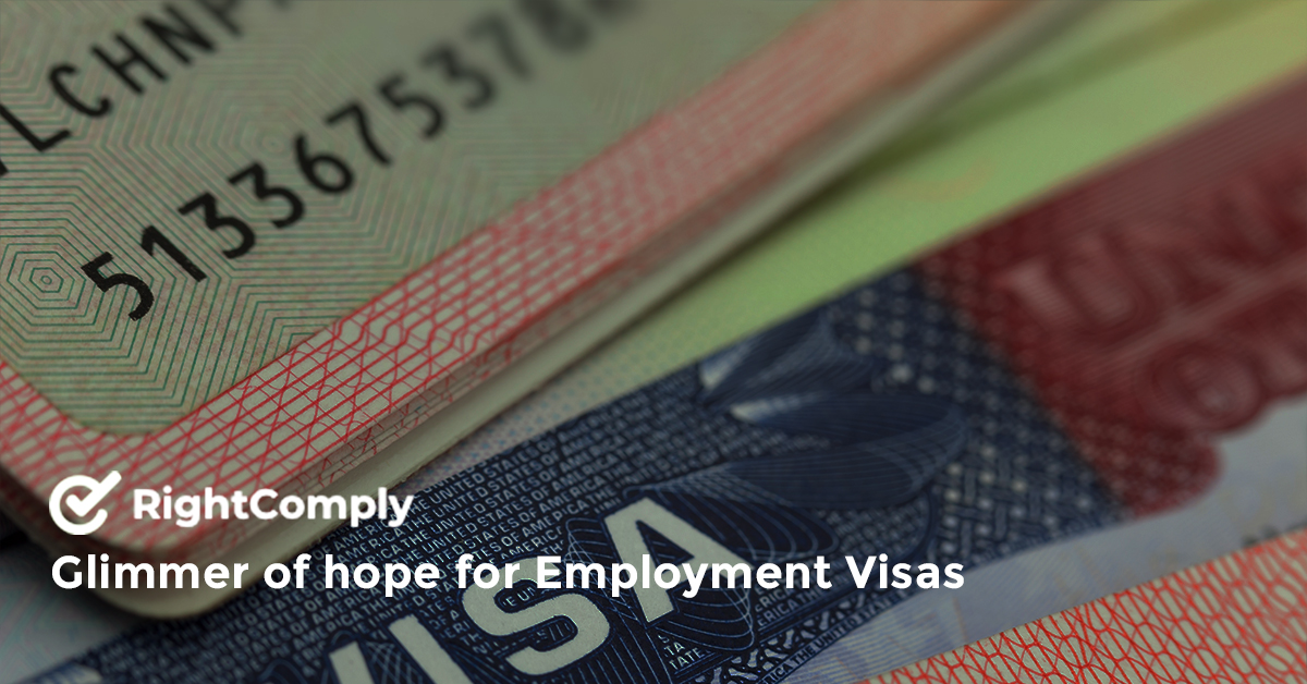 Glimmer of hope for Employment Visas