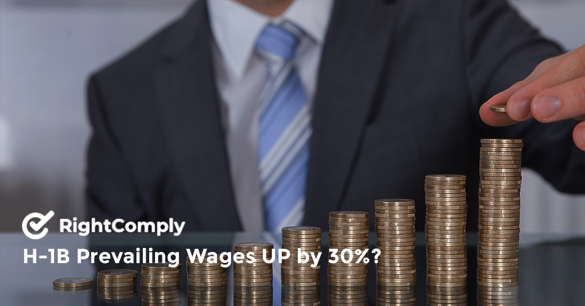 H-1B Prevailing Wages UP by 30%?