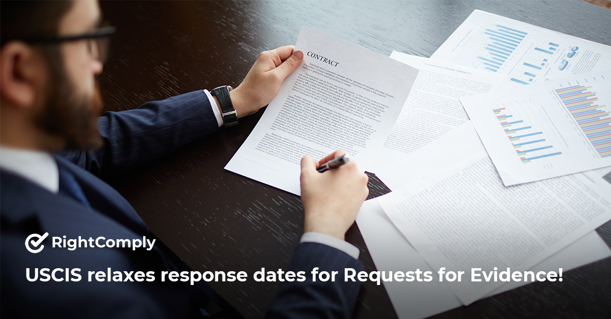 USCIS-relaxes-response-dates-for-Requests-for-Evidence